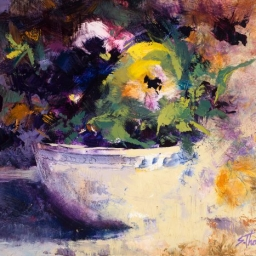 """Signs of Spring #2 ● 8"""" x 10"""" ● Oil ● SOLD"""