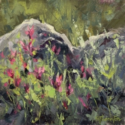 """Albion Basin #4 ● 8"""" x 8"""" ● SOLD"""