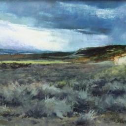 """Desert Storm ● 11"""" x 14"""" ● Oil ● SOLD"""