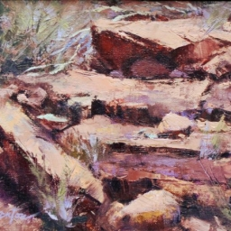 "Red Rock ● 6"" x 8"" ● Oil ● SOLD"