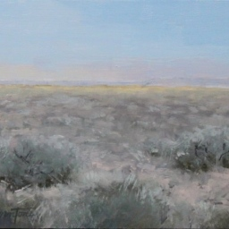 "The Quiet Desert ● 8"" x 10"" ● Oil ● $500"