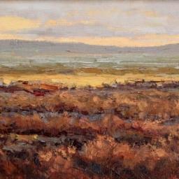 "Sunset Near Lake Powell ● 9"" x 12"" ● Oil ● SOLD"