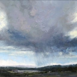 "Storm Clouds ● 16"" x 20"" ● Oil ● $1800"