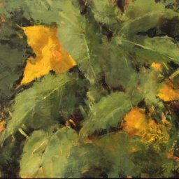 """Summer Squash on The Way ● 9"""" x 12"""" ● Oil ● $700"""