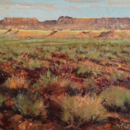 "Desert Near Lake Powell ● 8"" x 10"" ● Oil ● SOLD"