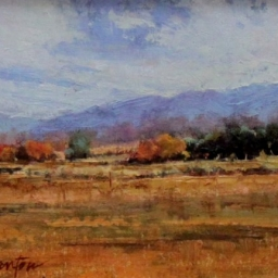 "Autumn in the Mountains ● 6"" x 8"" ● Oil ● SOLD"