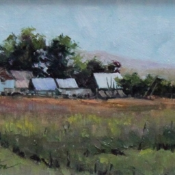 "Oakley Barns ● 6"" x 8"" ● Oil ● SOLD"