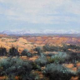"Southern Utah Red Rock ● 8"" x 10"" ● Oil ● $500"