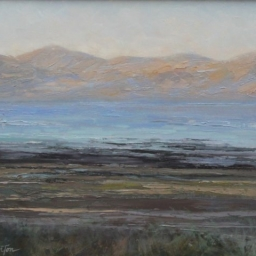 "The Great Salt Lake ● 16"" x 20"" ● Oil ● $1500"