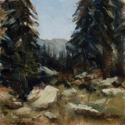 "Albion Basin #1 ● 8"" x 8"" ● Oil ● SOLD"
