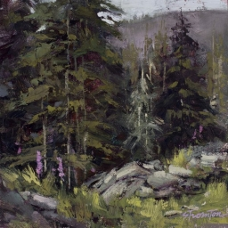 "Albion Basin #2 ● 8"" x 8"" ● Oil ● SOLD"