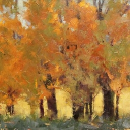 """Autumn in Woodland ● 18"""" x 24"""" ● Oil ● SOLD"""