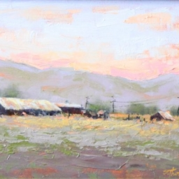 "Kamas Morning ● 8"" x 10"" ● Oil ● SOLD"