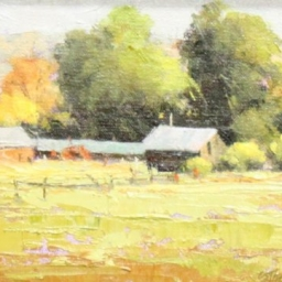 "Logan Farm ● 6"" x 8"" ● Oil ● SOLD"