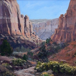 "Long Canyon ● 11"" x 14"" ● Oil ● $1200"
