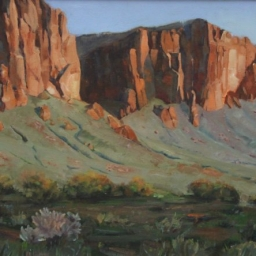 "Lost Dutchman ● 18"" x 24"" ● Oil ● $1400"