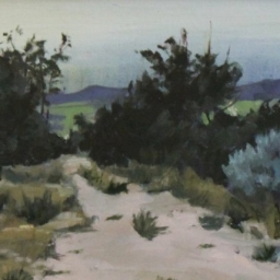 """Road Less Traveled - Spring City ● 9"""" x 12"""" ● Oil ● SOLD"""