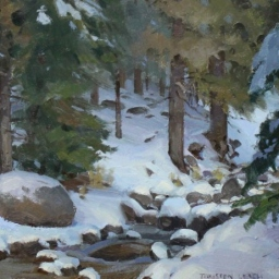 """Enchanted Forest ● 11"""" x 14"""" ● Oil ● $495"""